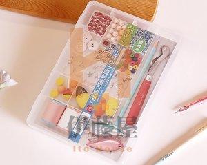 KM 日本品牌NSH多用小物收納盒 化妝品首飾收納盒 透明盒子
