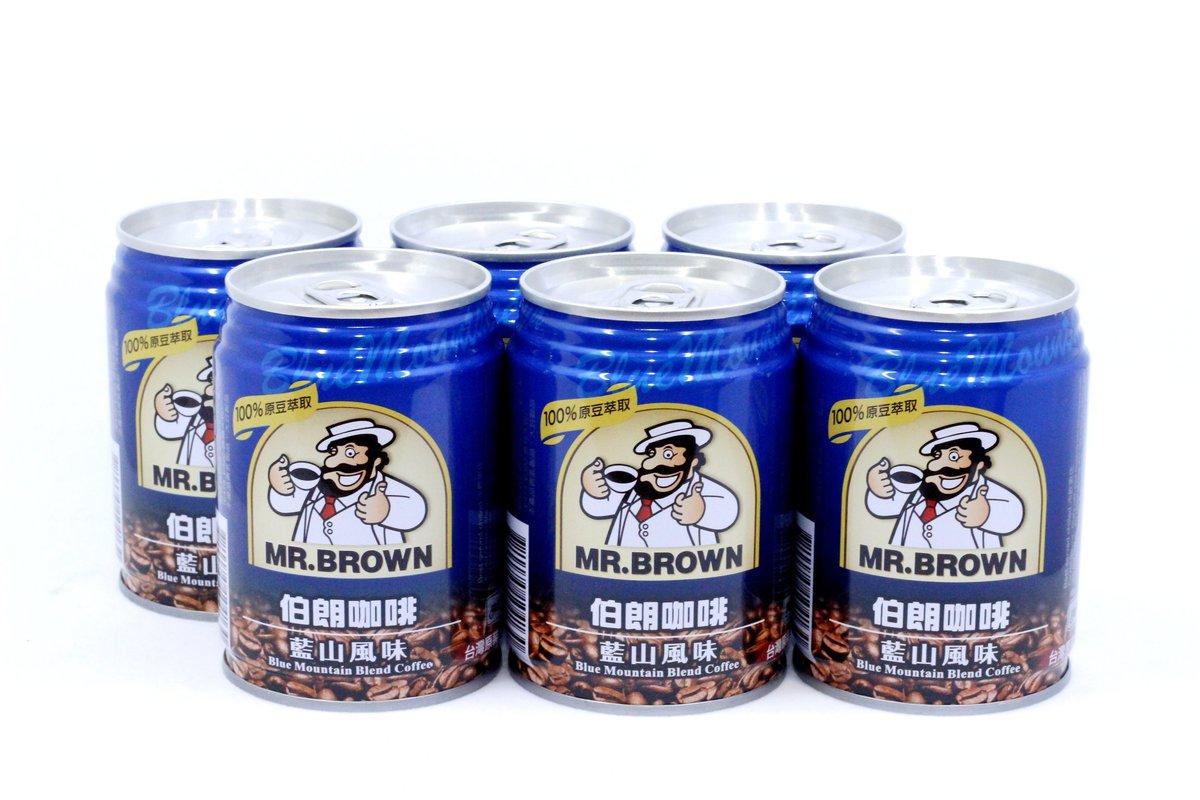 伯朗咖啡 - 罐裝 藍山風味咖啡 240ml x 6罐
