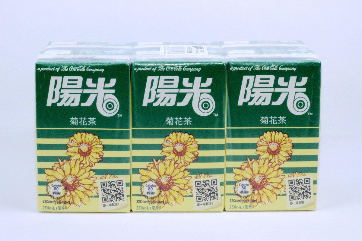 陽光 菊花茶250ml x 6 包
