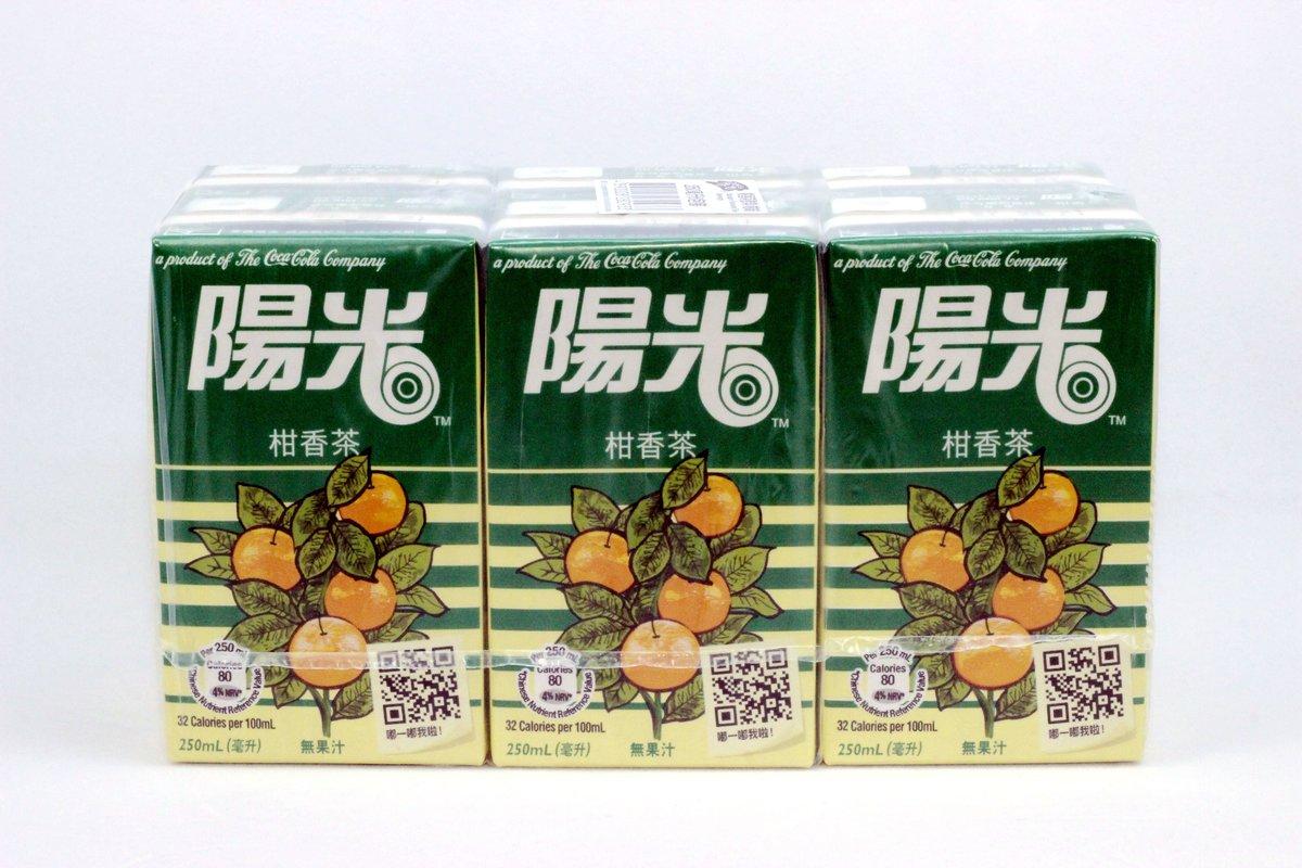 陽光 柑香茶飲料250ml x 6包裝