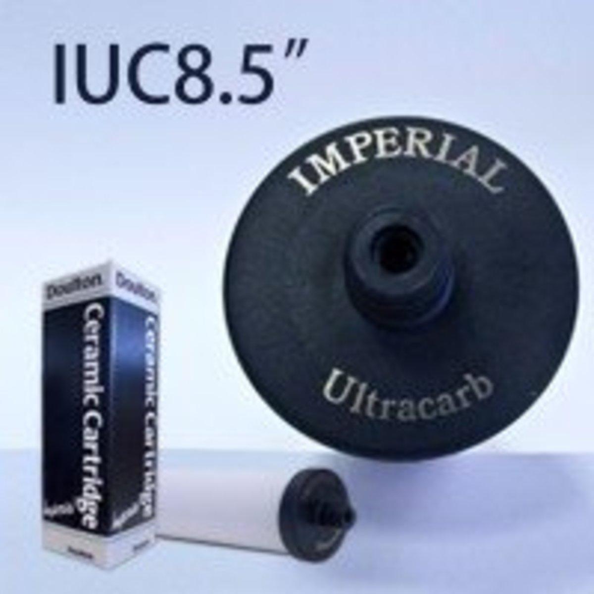 [香港行貨] IUC 8.5'' - 8.5 吋歐化級粗濾芯 Water Filter 可濾鉛 [Free Delivery]