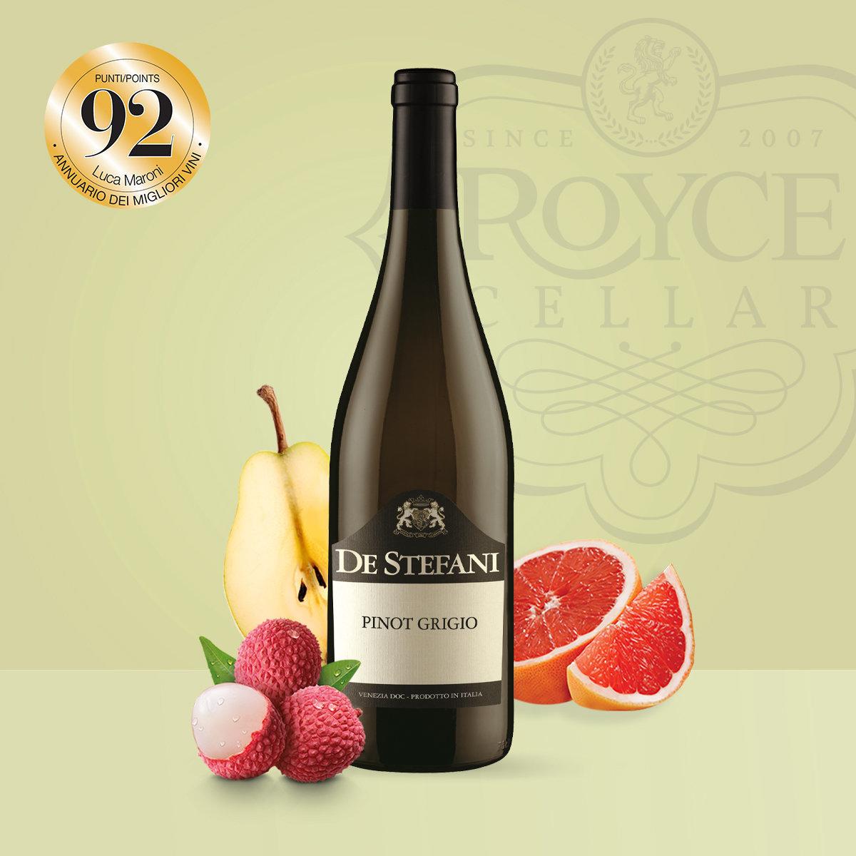 Pinot Grigio 2018 白酒 (品酒師推介)