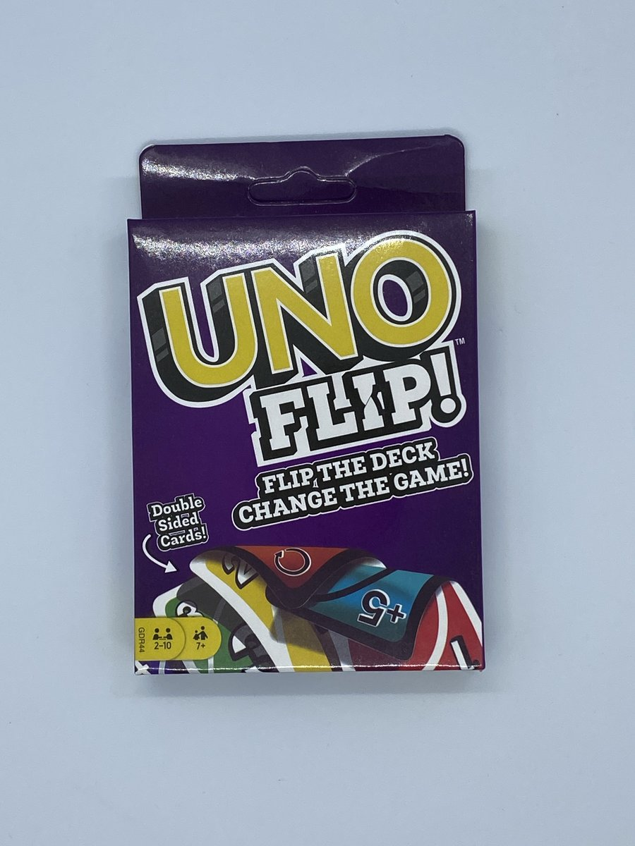 Uno Flip Double Sided Cards