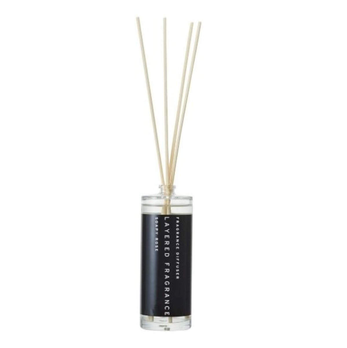Layered F. Diffuser 100ml - Soapy Rose