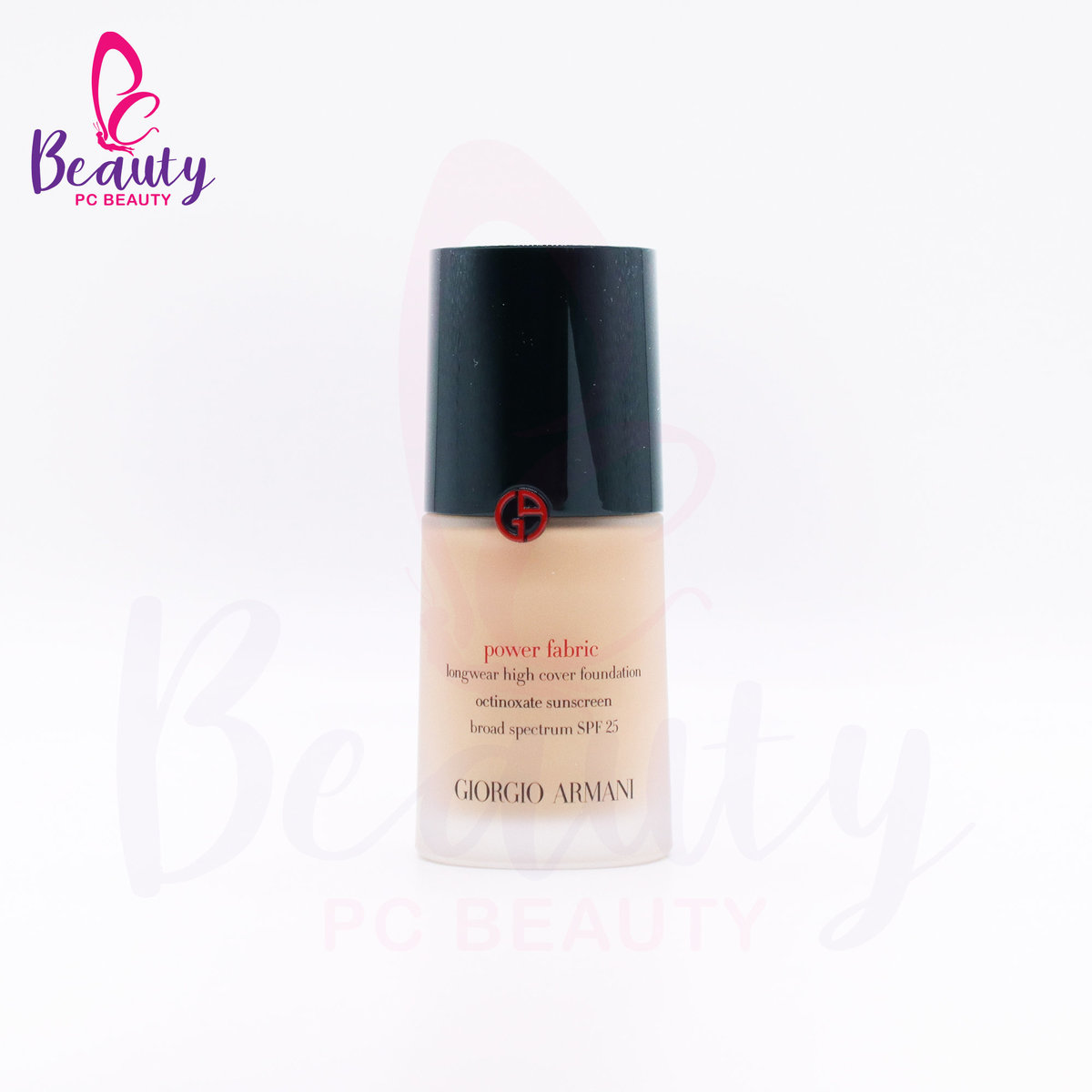 ARMANI POWER FABRIC LONGWEAR HIGH COVER FOUNDATION  SPF 25  #4 30ML [Parallel Import Product]