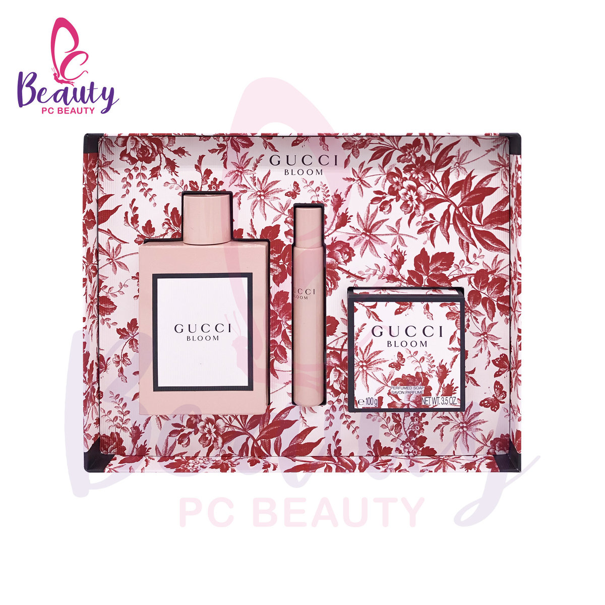 GUCCI BLOOM GIFT SET (3PCS) [Parallel Import Product]