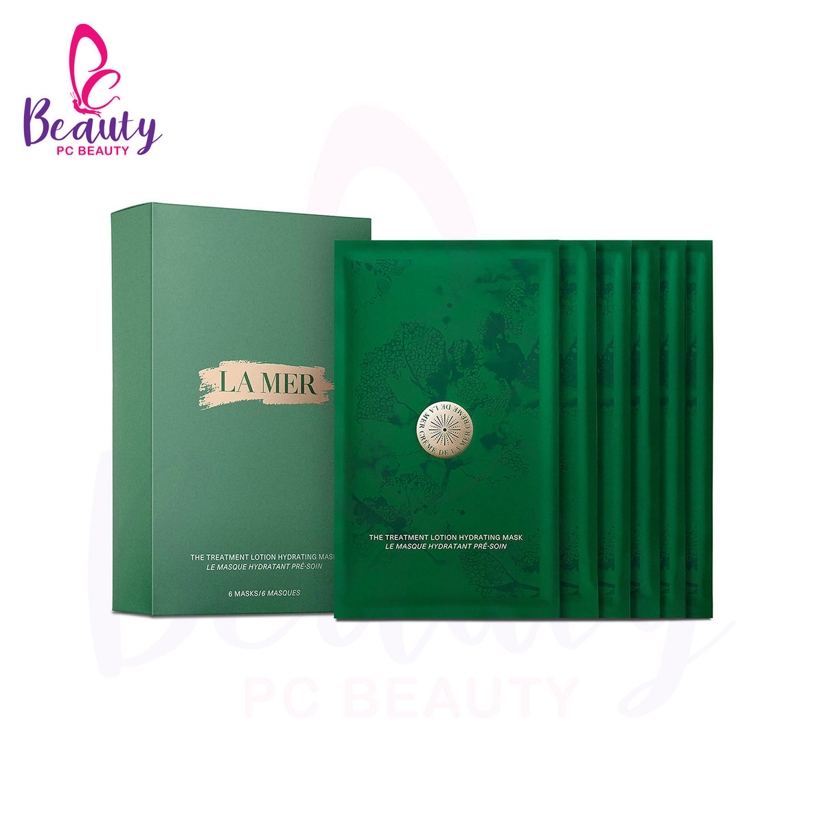 LA MER THE TREATMENT LOTION HYDRATING MASK 6PCS [Parallel Import Product]