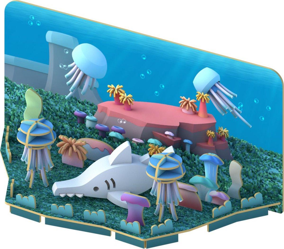 3D海洋樂園 - 鋸鯊(Saw Shark)