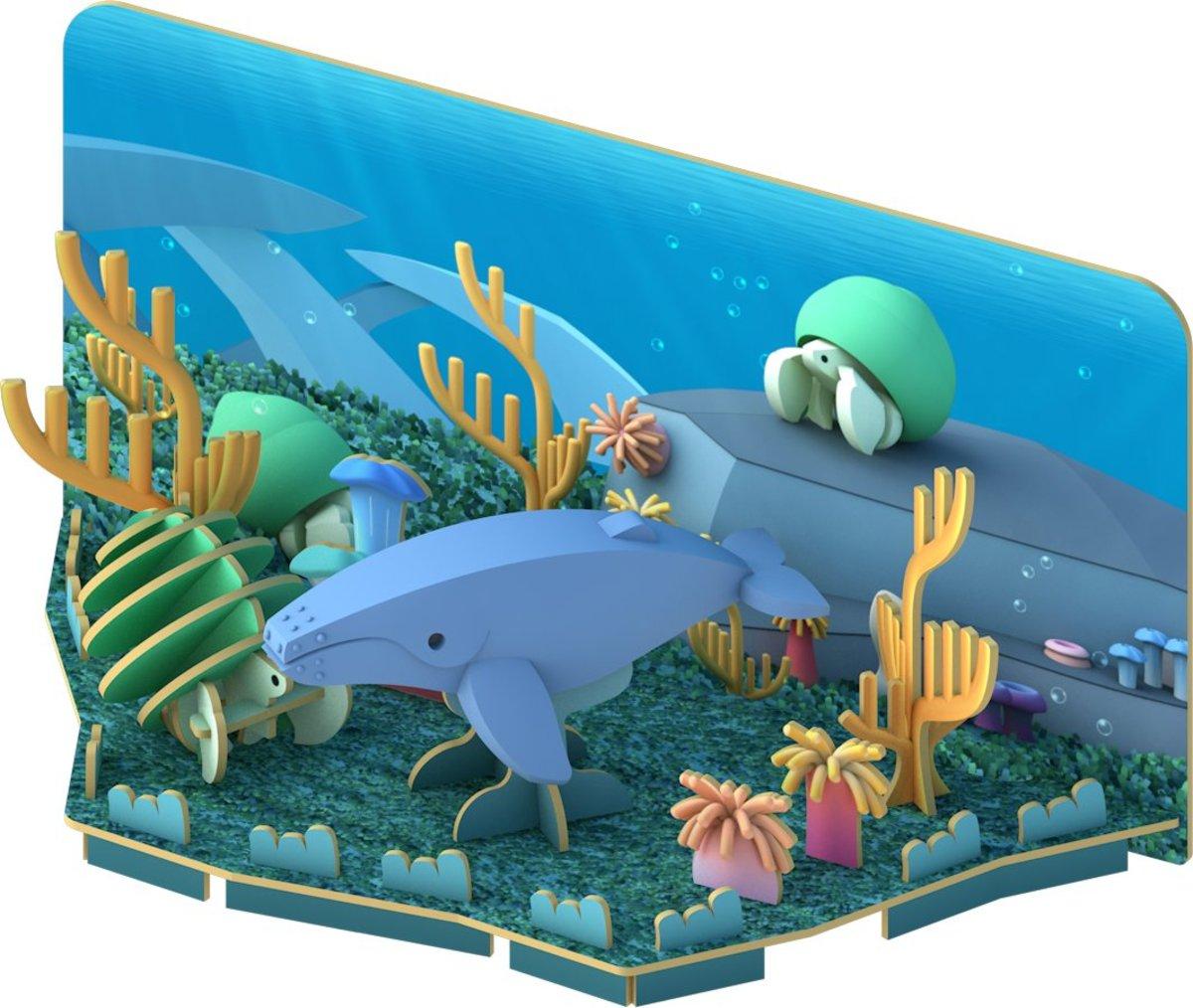3D Ocean Series- Humpback Whale