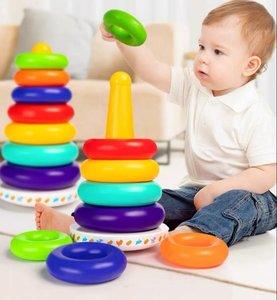 Four Pigs 疊疊樂-寶寶玩具6個月以上嬰幼兒童益智玩具 學習感知 -1個