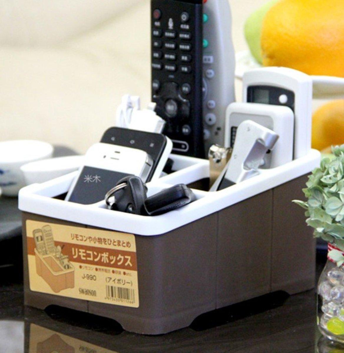 日本遙控器收纳盒桌面整理盒 [平行進口]