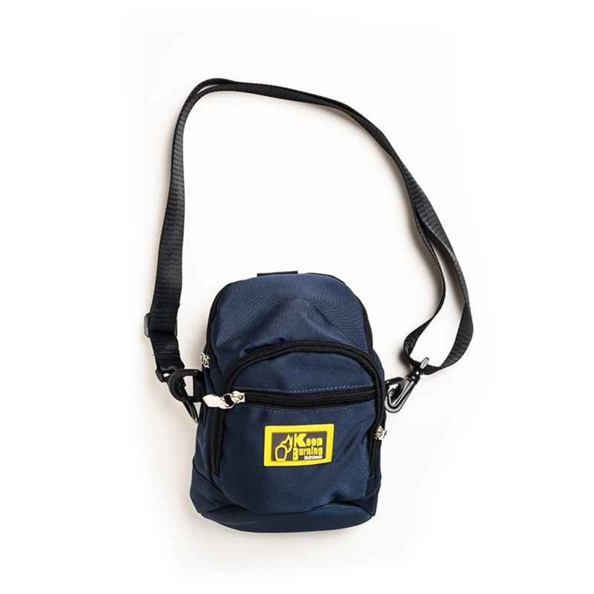 火柴人 Pouch Bag (藍)