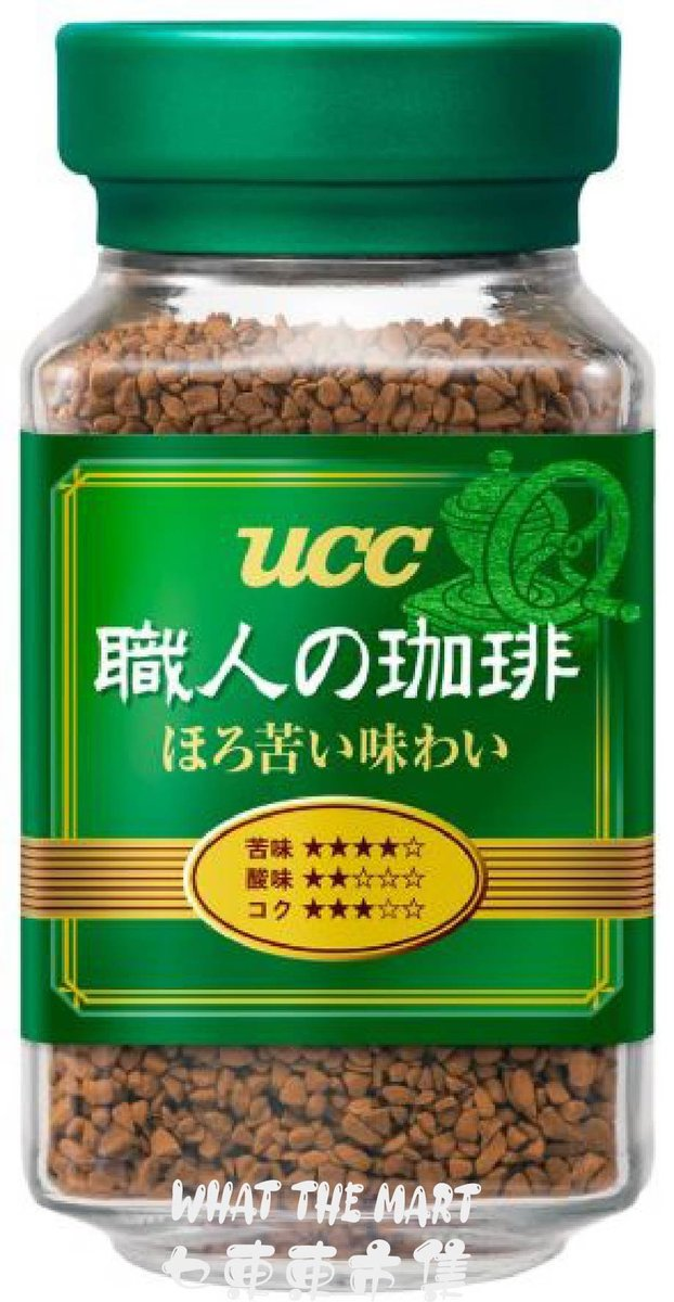 UCC craftsman's coffee, bittersweet taste bottle (90g) (4901201103988)