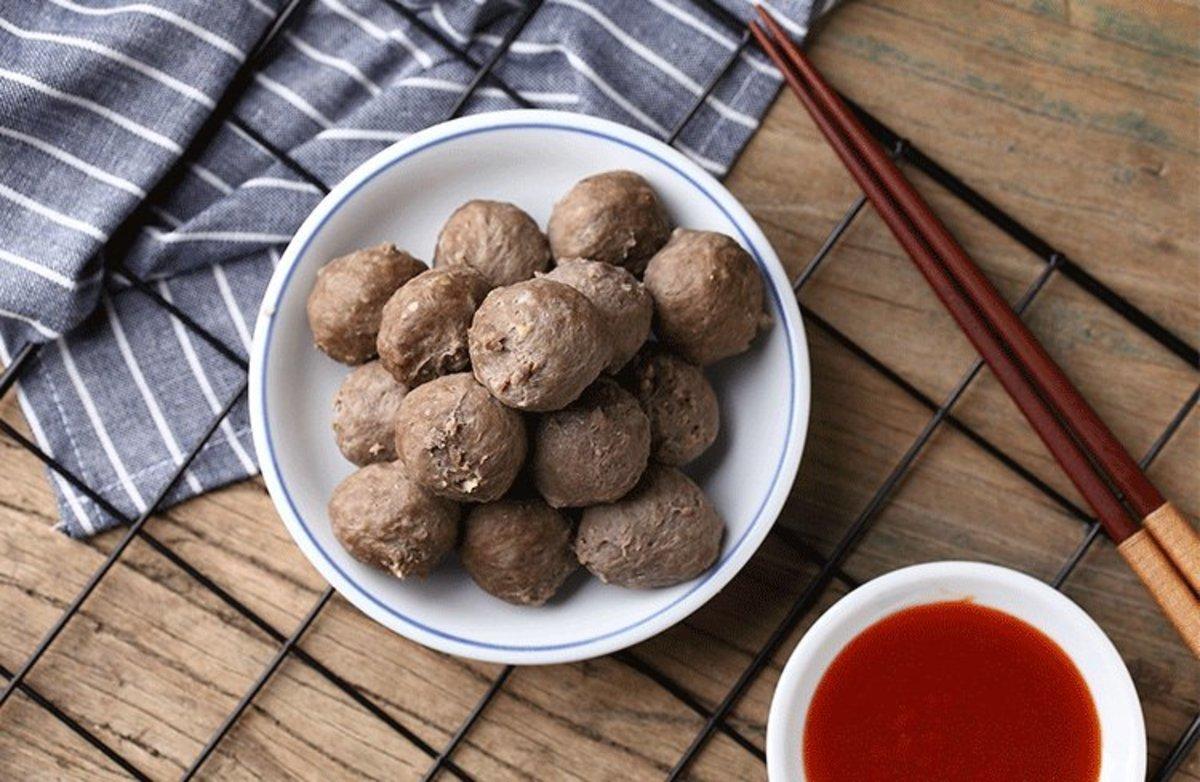 潮汕馳名獲獎 - 爆汁牛肉丸(無麵粉)250克