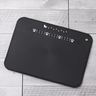 FLEXIABLE PLASTIC CUTTING BOARD (Black) - with Cute Cat card