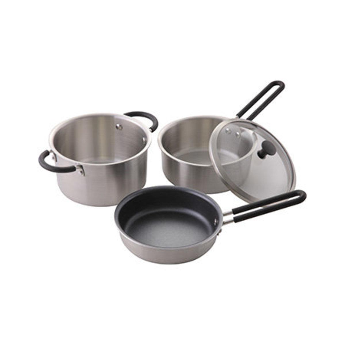 O.E.C 廚具3件套裝連蓋 15CM