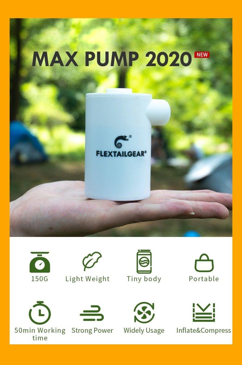 MAX PUMP 2020 便攜式充氣抽氣兩用泵