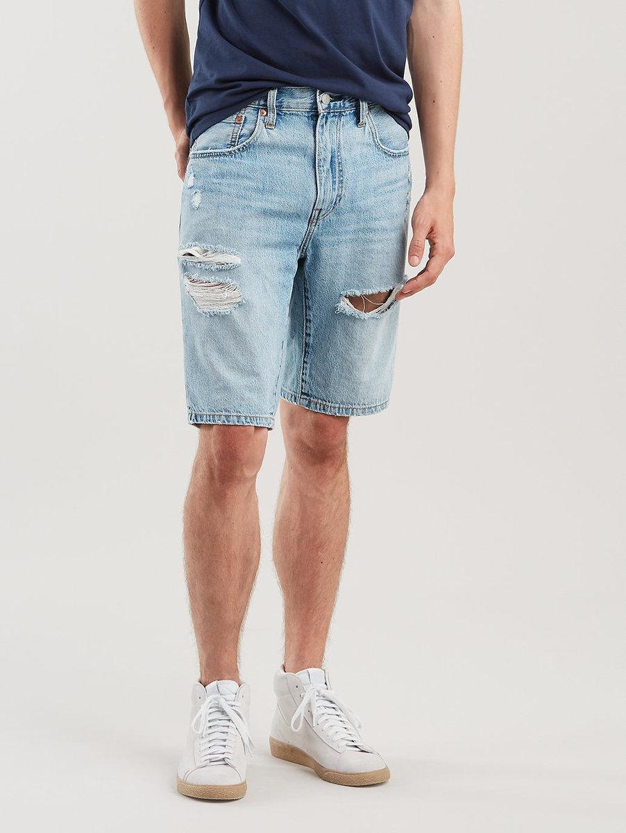 502™ 標準窄腳剪裁 破損風牛仔短褲