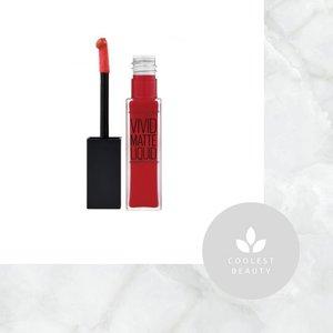 Maybelline Color Sensational Vivid Matte Liquid 8ml #35 Rebel Red