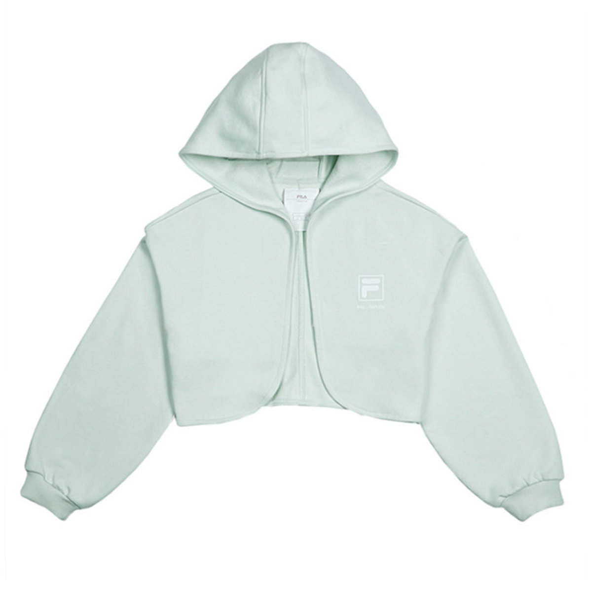 kay...isn't me Collection Open-Front Hooded Croppe