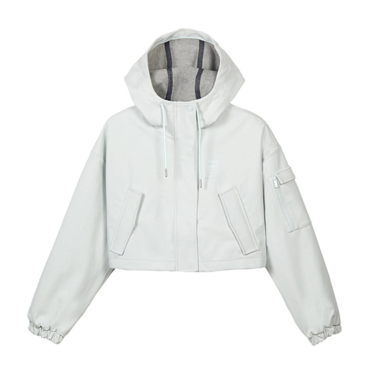 kay...isn't me Collection Cropped Hooded Jacket