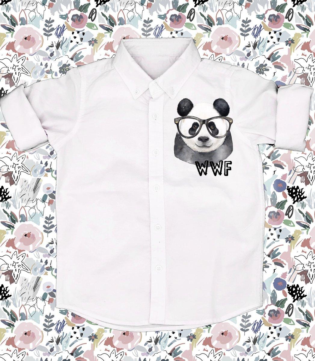 Printed Woven Shirt - PANDA