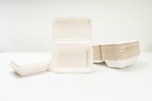 Kung Kai Hong 泰國製可生物降解環保飯盒 一次性   (50隻裝) 50 隻