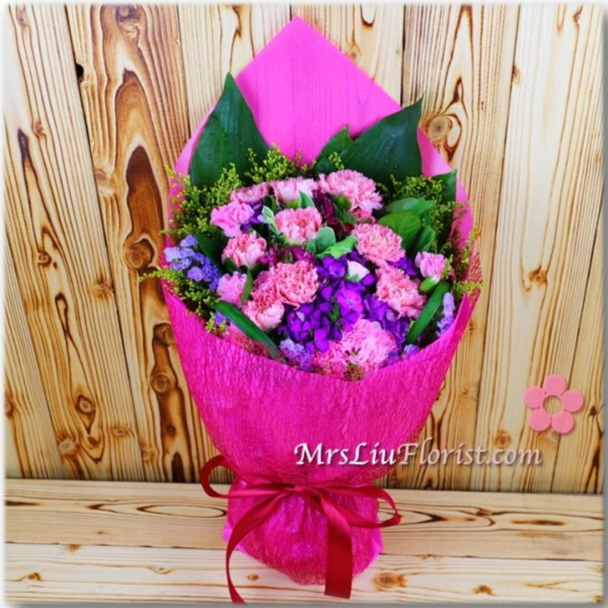 MB08 Carnation Bouquet
