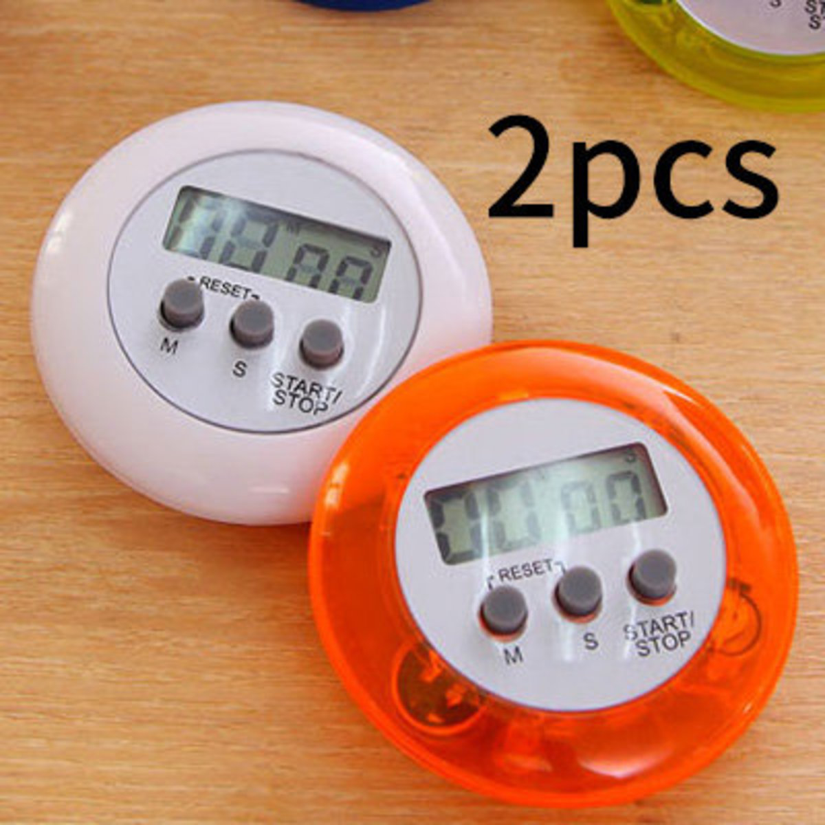 厨房多用計時器(2個)