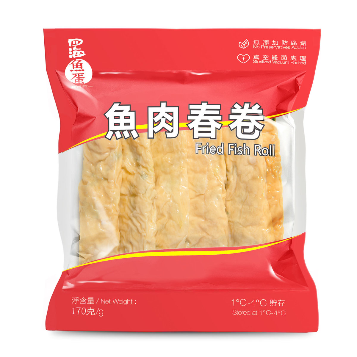 Fried Fish Roll 170g (CHILL)