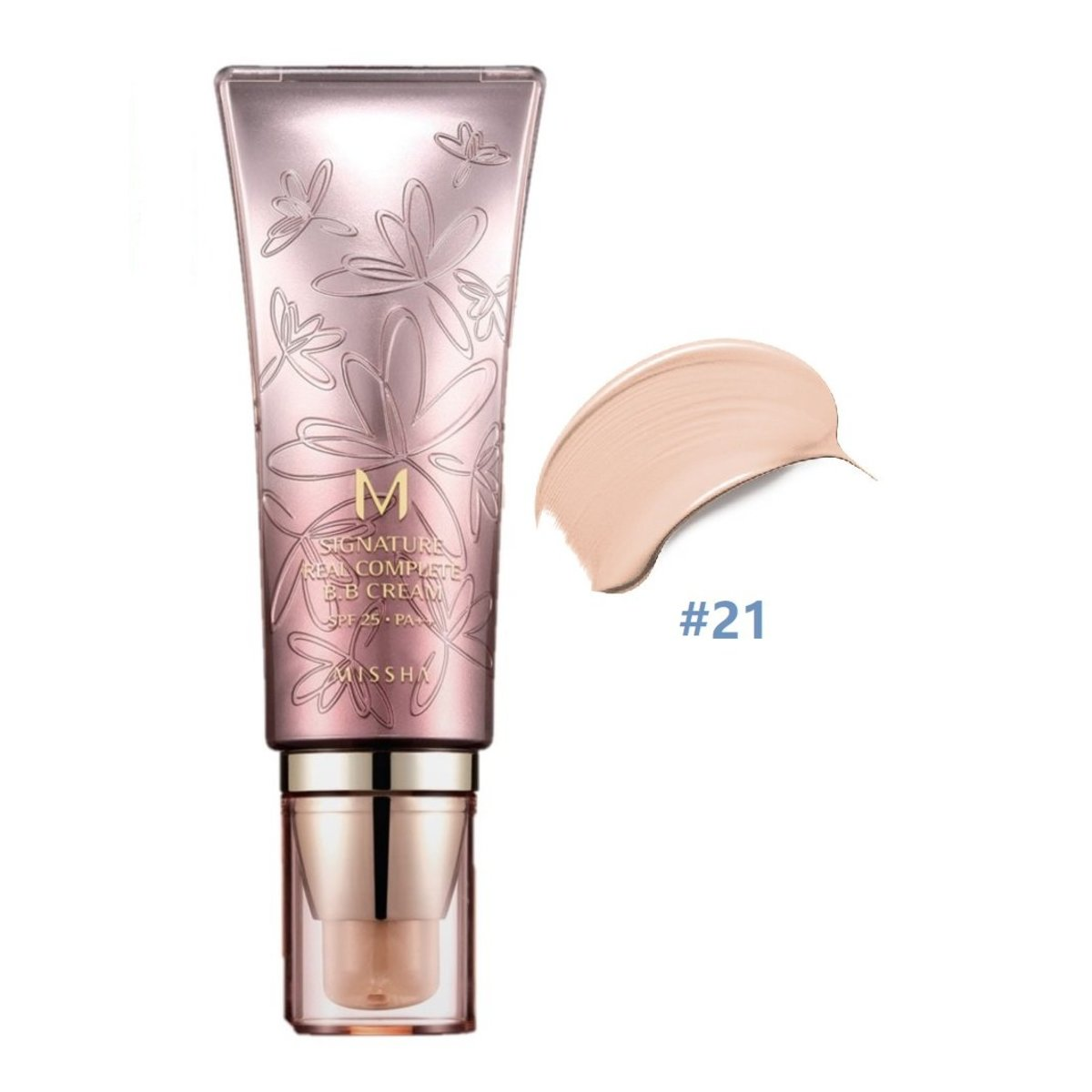Missha - M Signature Real Complete Bb Cream Spf25 PA++ 21# 45g (Parallel Import)    (8806150661755)