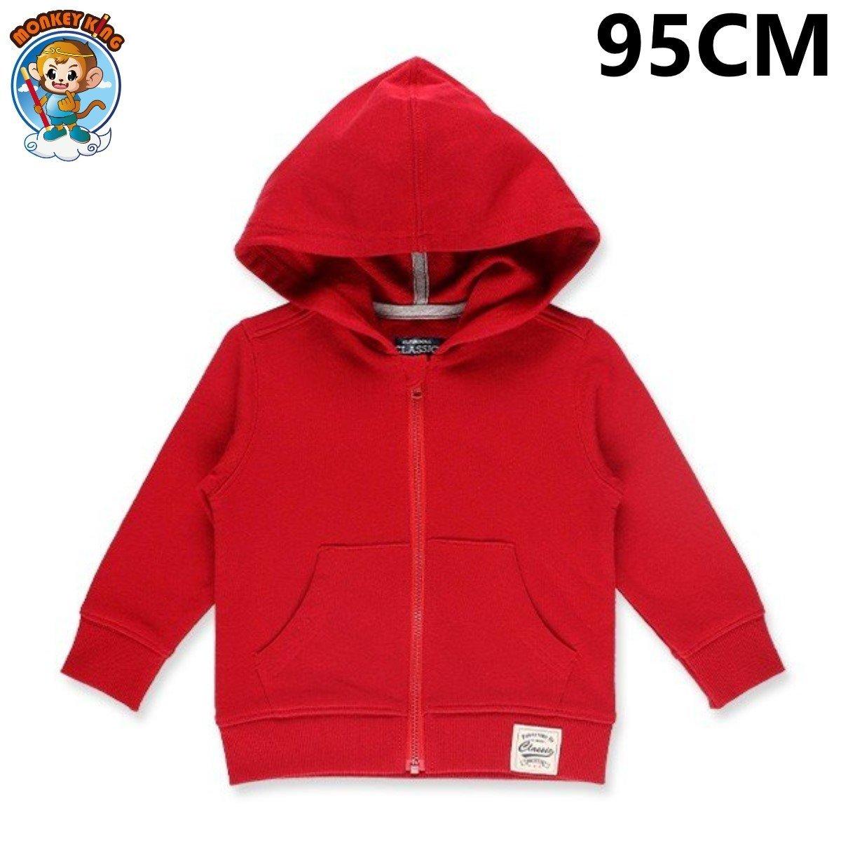 Kid's Zip Up Coat/Outerwear (95cm) - Red