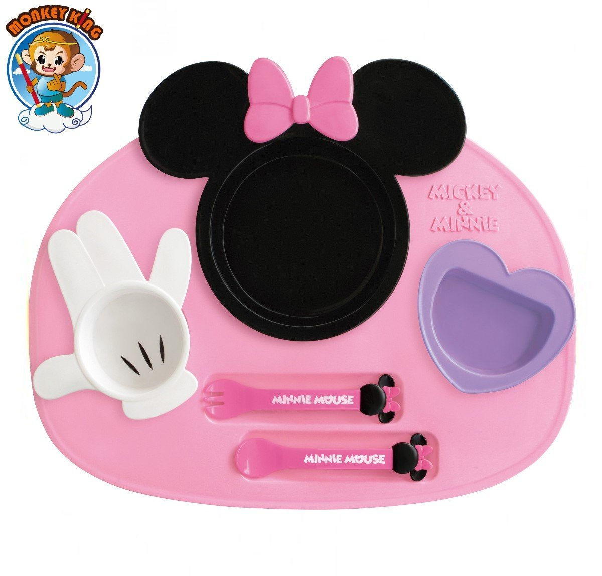 Baby Tableware Dishes Set - Minnie