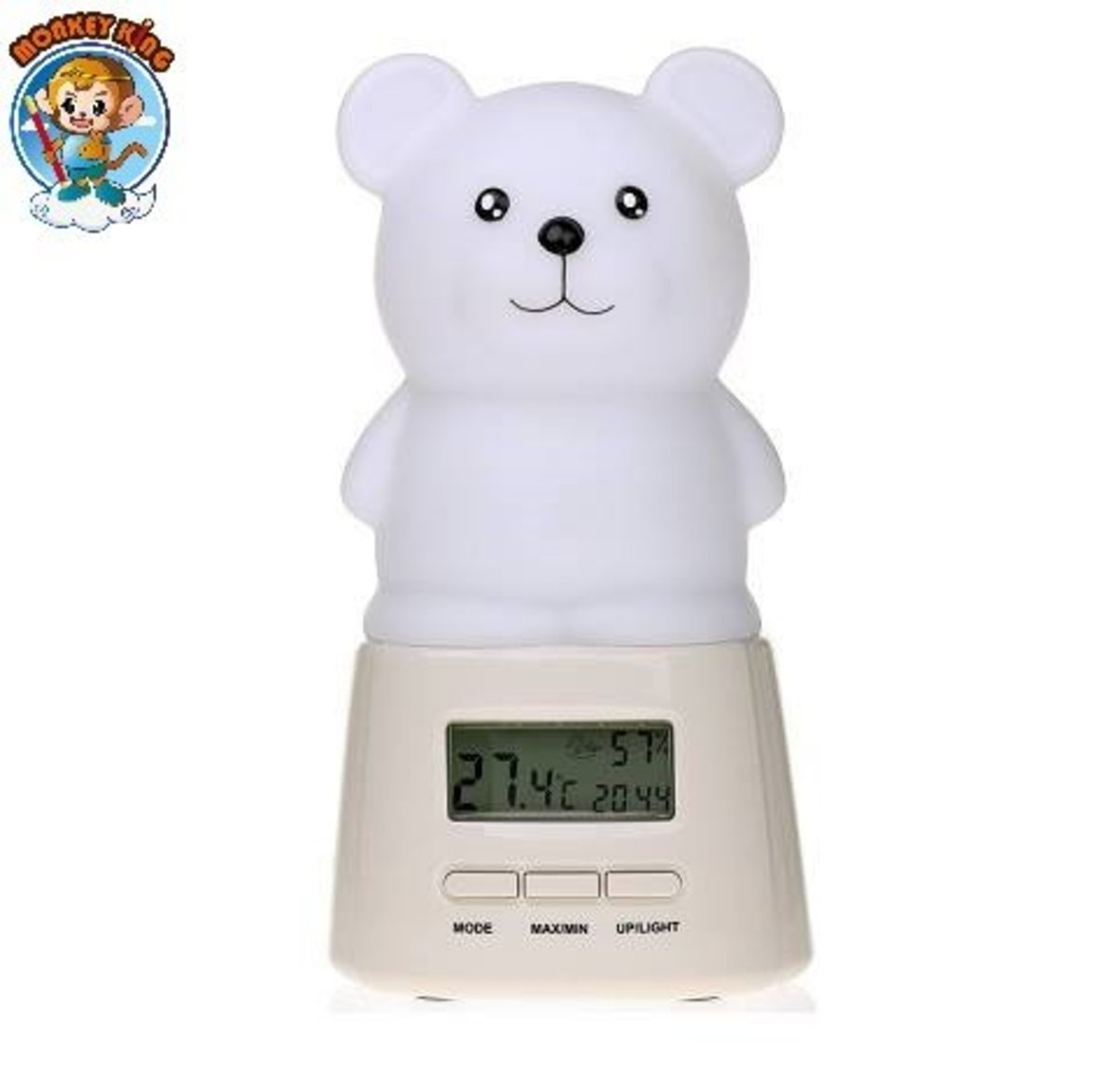 NigCom Adv Seven-Color Night Light with Temperature – Owl