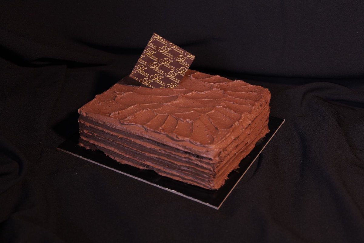 1 Unit - Double Fudge Chocolate Cake 14cm x 12cm (approx. 1 lbs)【Reserve 3 days in advance】
