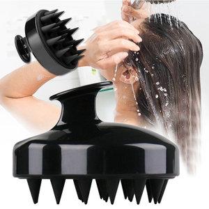 屯團百貨 按摩按摩器 洗頭按摩刷 洗頭髮刷子 洗髮按摩器 頭皮保健按摩洗頭刷 洗頭梳子 頭皮清潔矽膠按摩刷 經絡刷