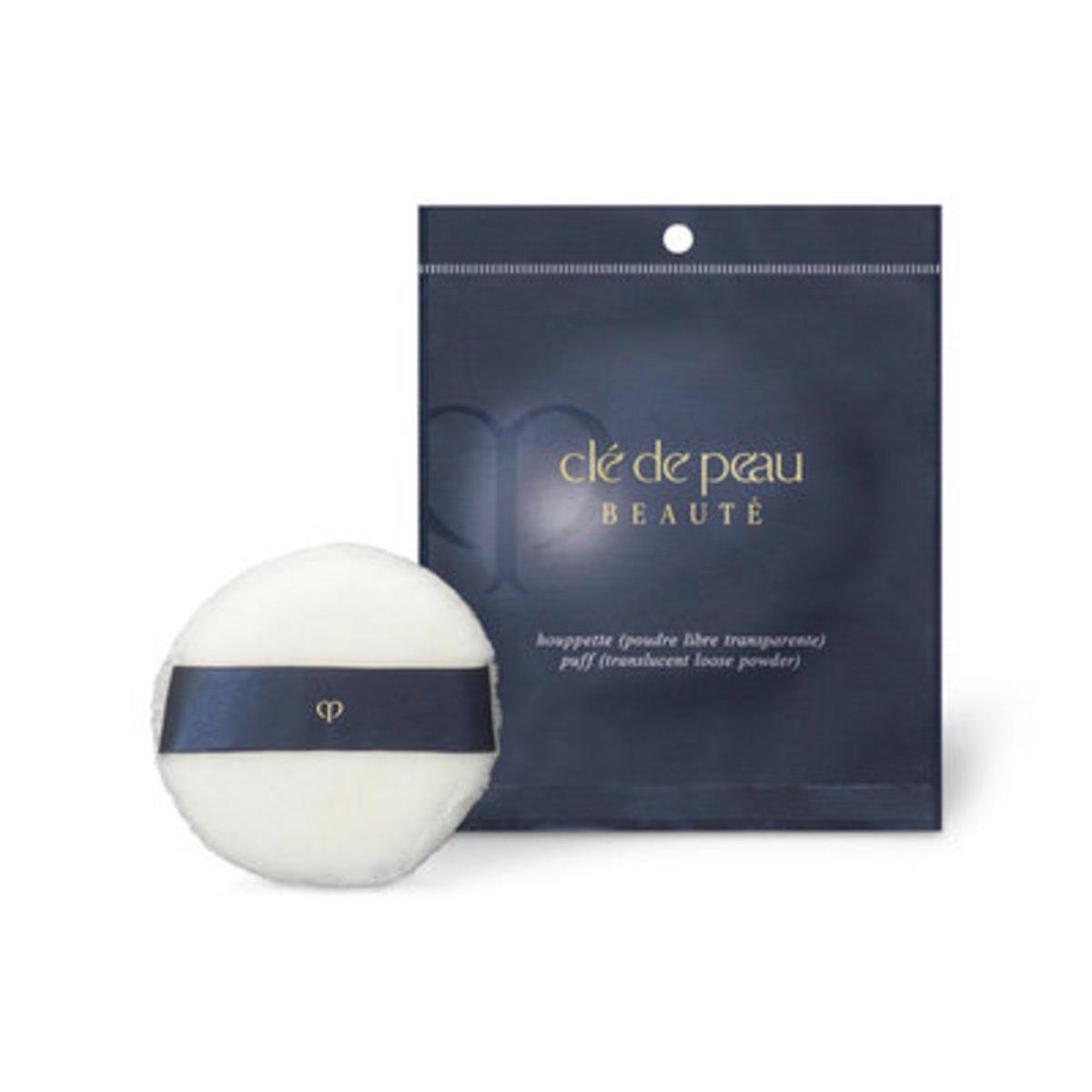 Translucent L Powder Puff 1pc (Parallel Import)