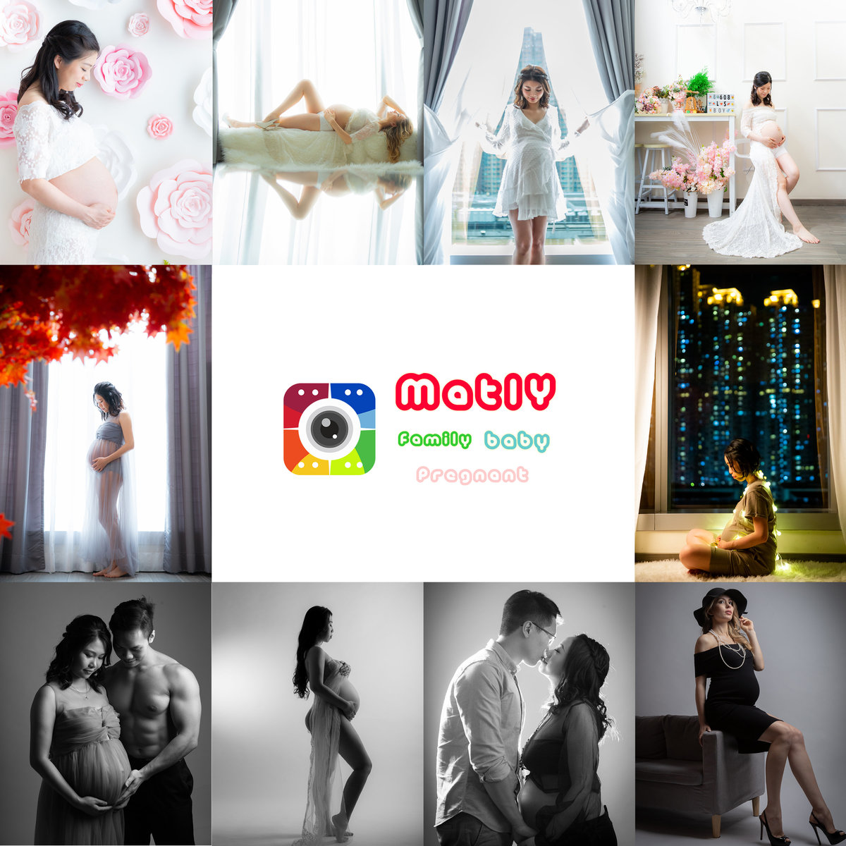 1 Session - 1 Hour Family Photoshoot Package for 3-4 Pax