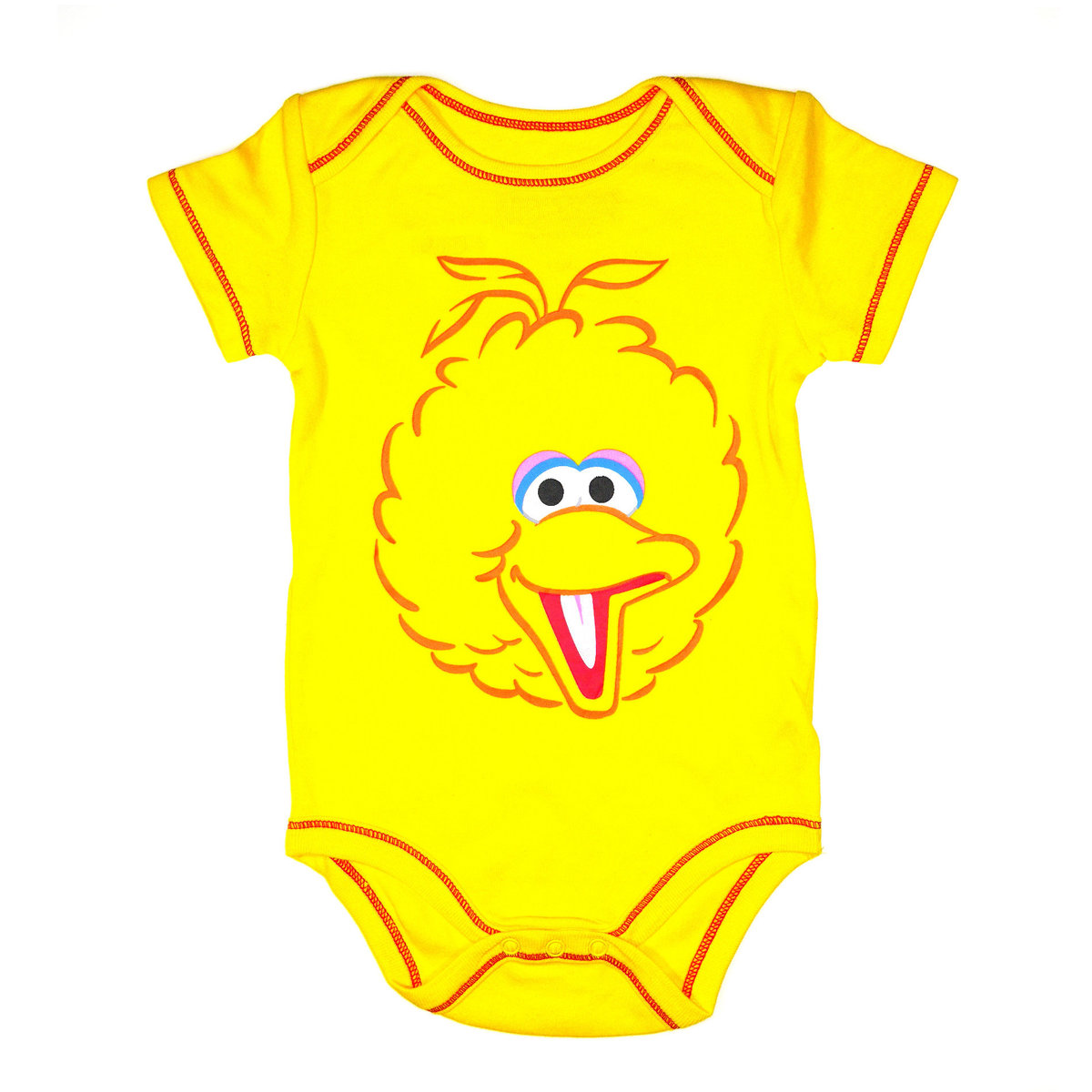 Big Bird Babysuit (6-18months) (parallel)