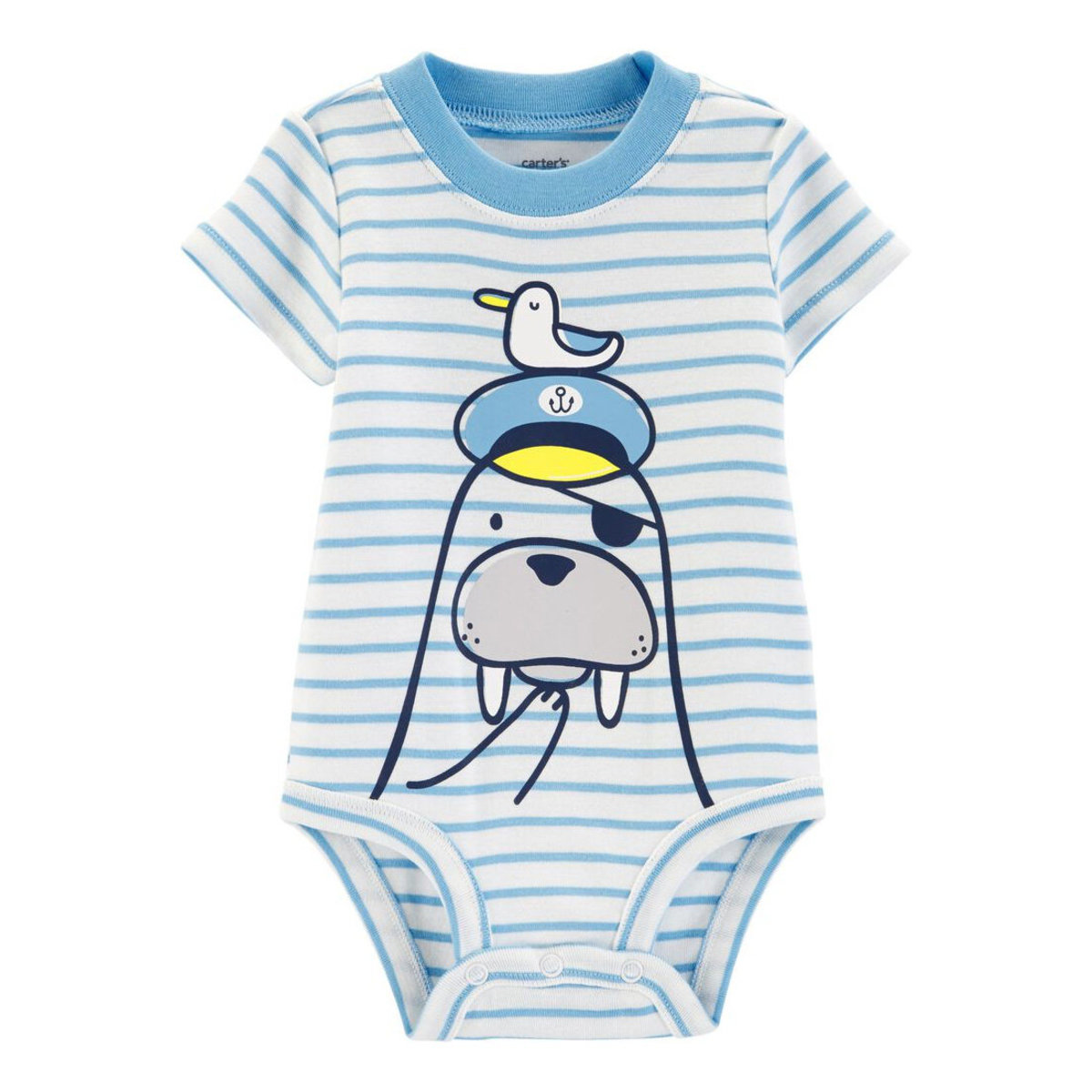 Walrus Collectible Baby Bodysuit 9-18 months (parallel)