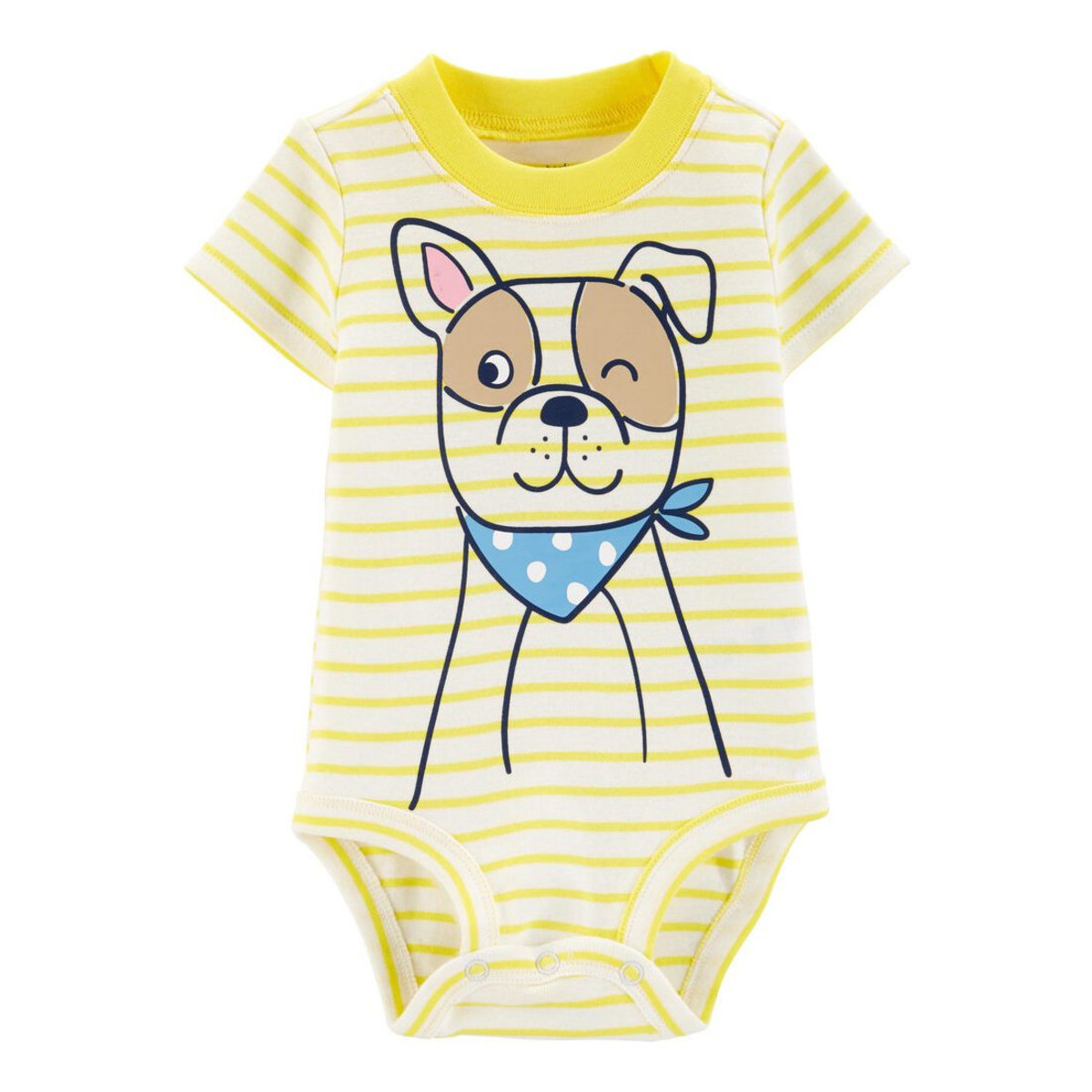 Dog Collectible Baby Bodysuit 9-18 months (parallel)