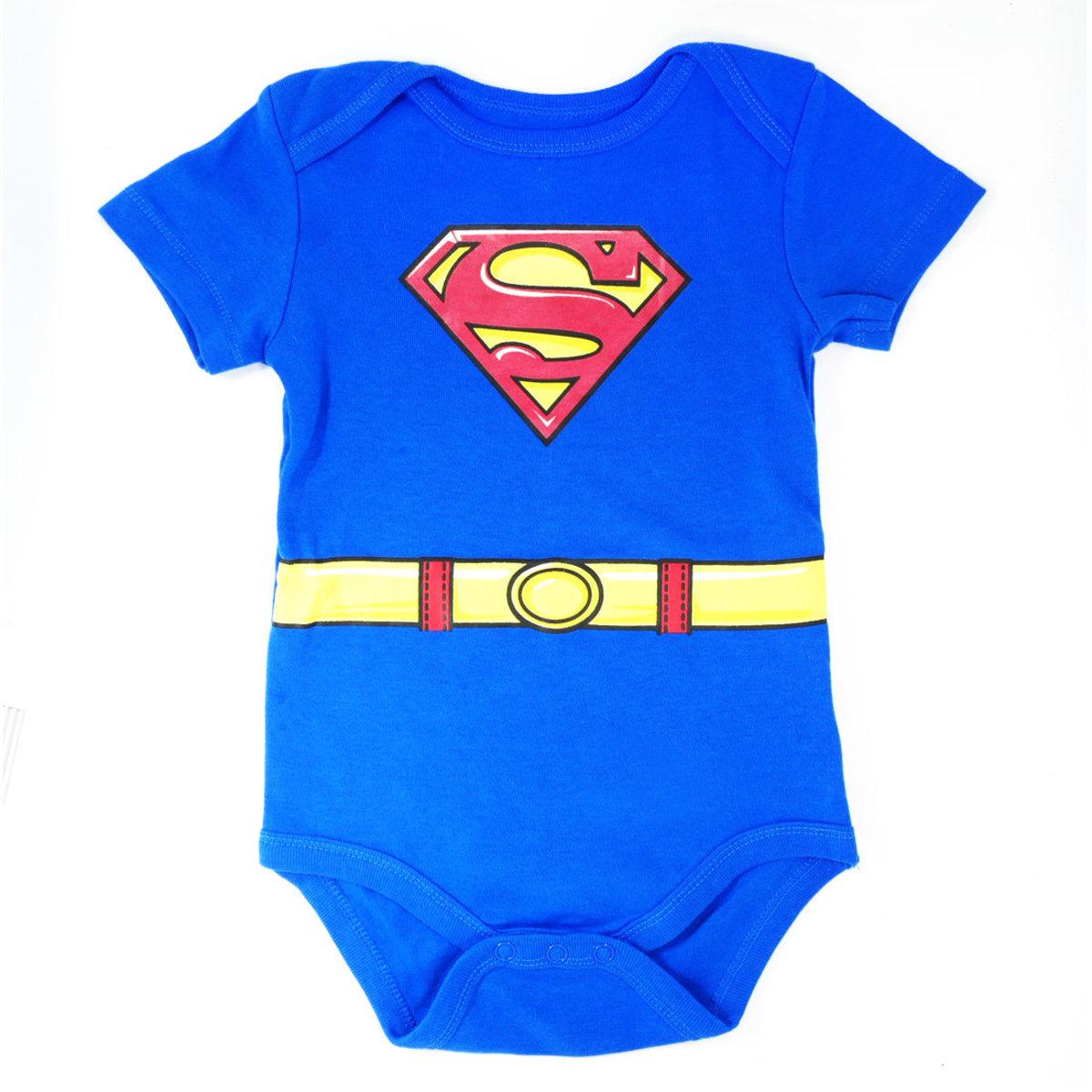Superman Baby Bodysuit 6-18 months (parallel)