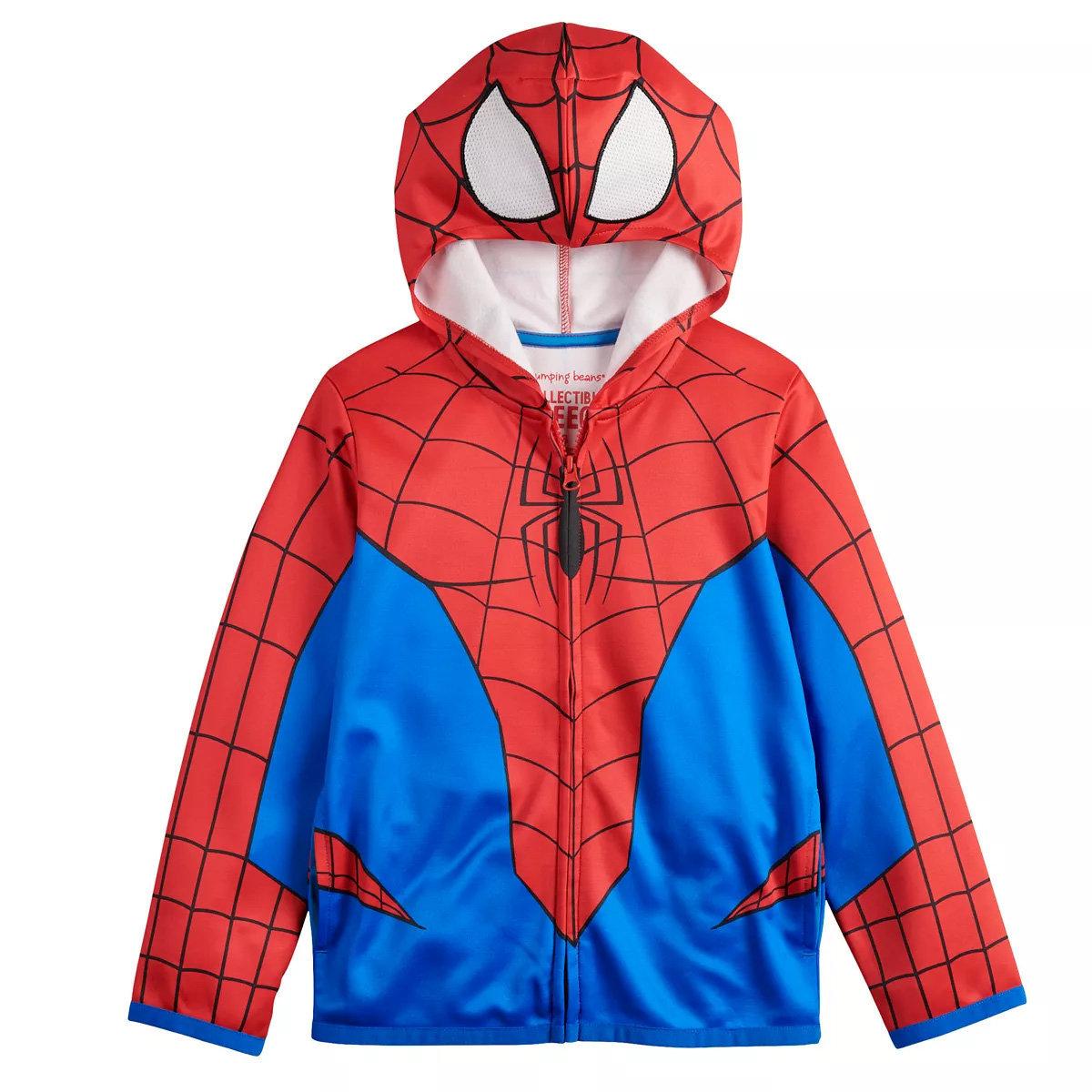 Spiderman Costume Hoodie (6-7yr) (parallel)