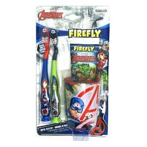 FIREFLY 復仇者聯盟兒童牙刷套裝 (平行進口) 4件裝