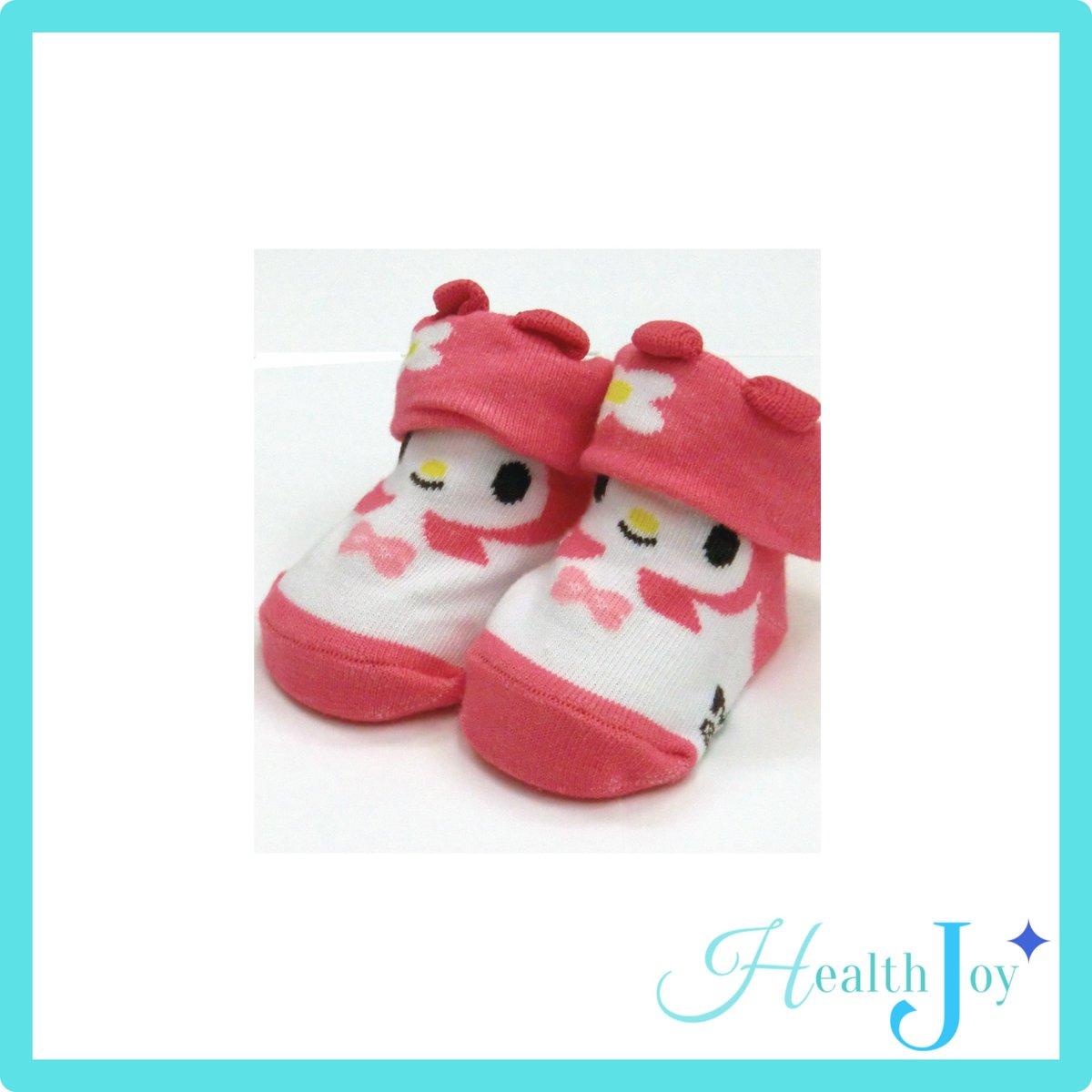 Japan My Melody baby socks/ infant socks/ young kid socks/ cotton socks/ Sanrio socks/ first gift