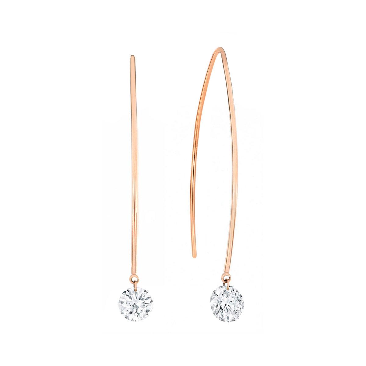 Charlotte Diamond Earring