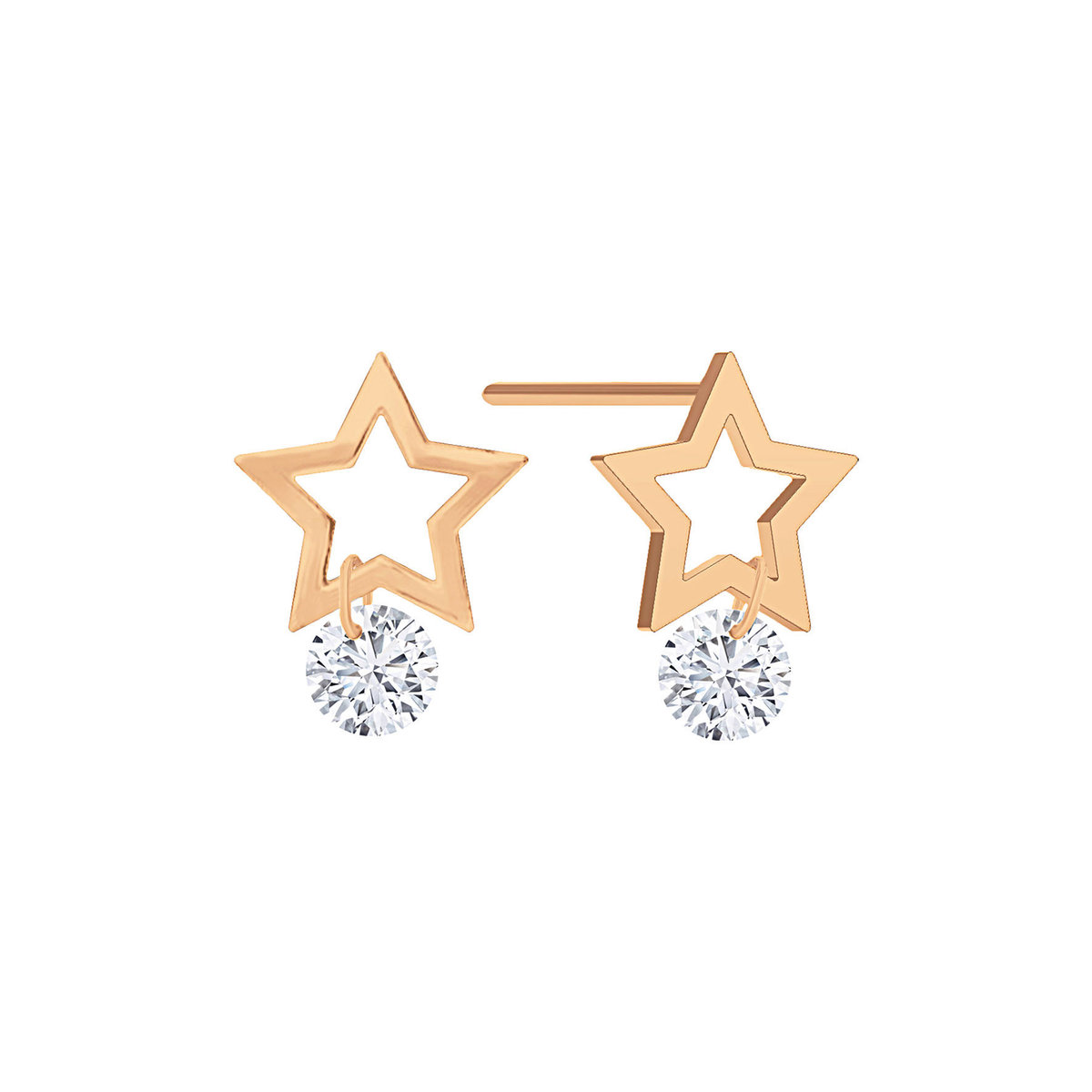 Starry Diamond Earring