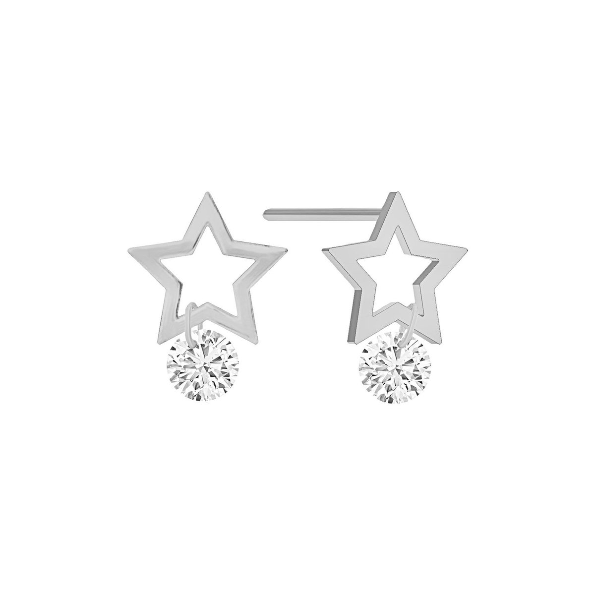 Starry Diamond Earring