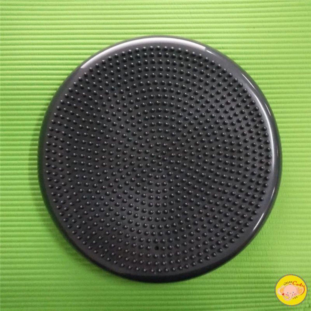 【Black】Yoga Massage Balance Pad【1PC】