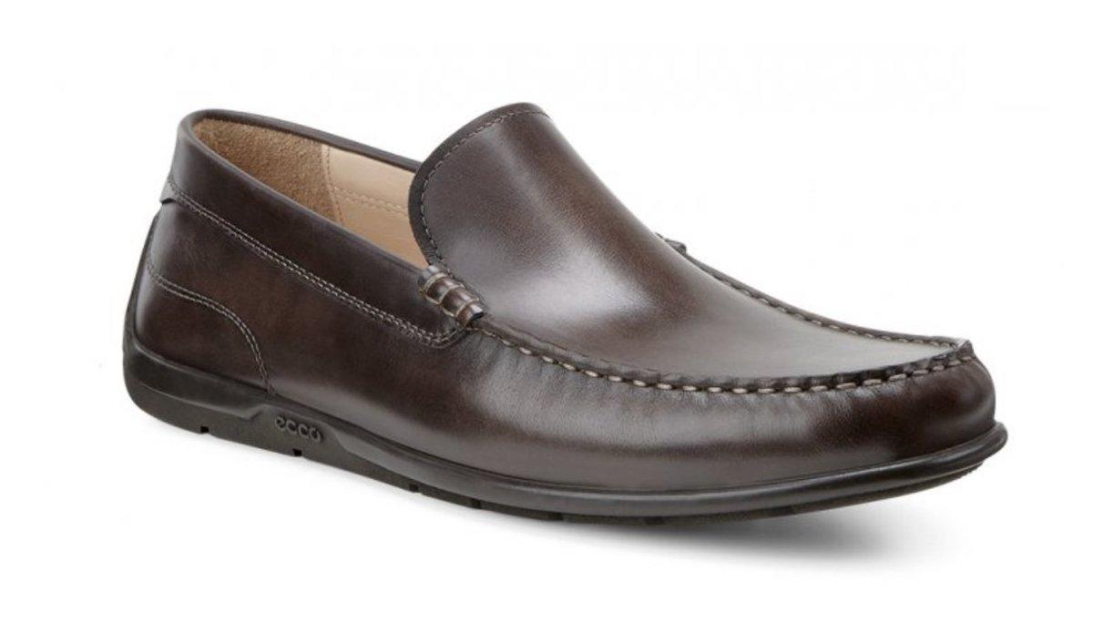 ECCO Mens'Classic Moc Shoes (Coffee/EU42) (Parallel goods)